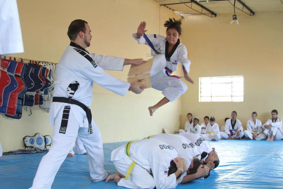 Acervo Pessoal Eduarda taekwondo
