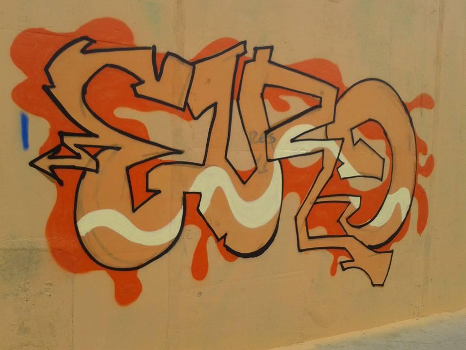 Divulgação/Evento em Guanhanases, Grafite contra o lixo