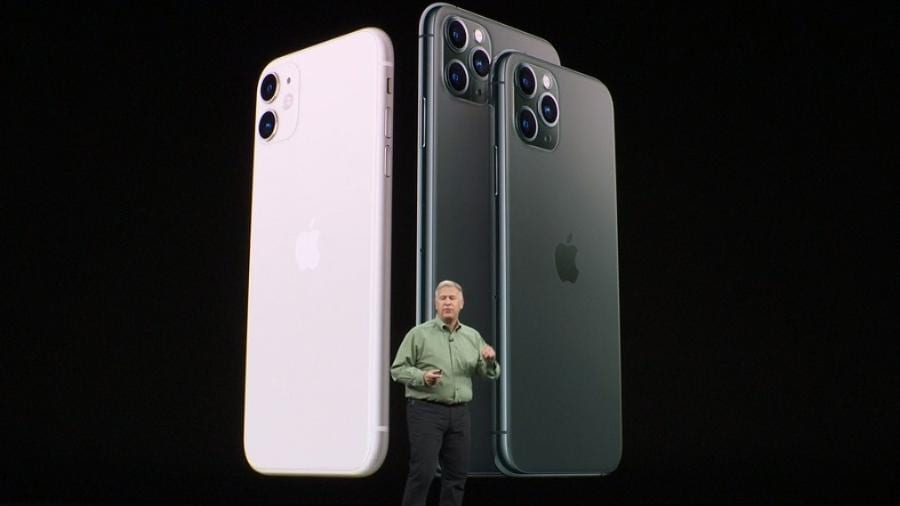 novo iphone 11